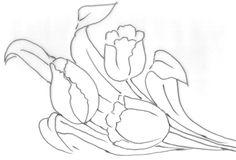 risco+tulipa.