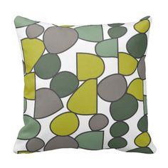 cojn almohada green stone colors