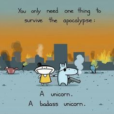 How to survive the apocalypse. - @9gag- #webstagram