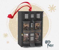 Hallmark 2016 Harry Potter Ollivander's Wand Shop by Orville Wilson
