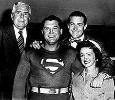 Superman TV cast 1950s   Superman