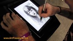 How to drawing on Ipad 3: by DANI ALARCON, via YouTube. procreate app
