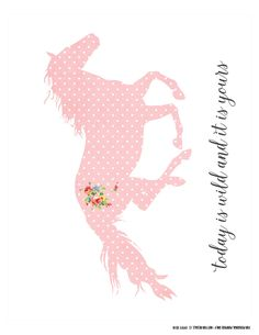 cottage_chic_horse_free_8x10_printable_FPTFY_3.jpg (2550×3300)