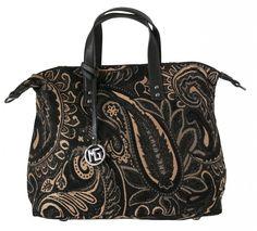 Dámská kabelka Marina Galanti, textilní - černá barva | obujsi.cz - dámská, pánská, dětská obuv a boty online, kabelky, módní doplňky
