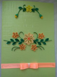 Quilling #flowers