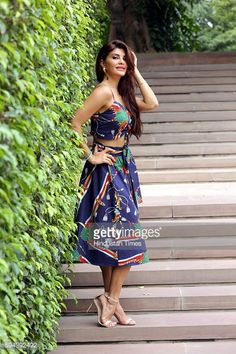 Bollywood actor Jacqueline Fernandez posing for a profile shoot during the promotion of her upcoming film Flying Jatt at Dusit Devrana on August 19, 2016 in New Delhi, India. A Flying Jatt is an...