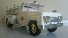 Pressed steel Tonka fire pumper truck  #Tonka