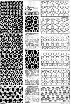 How to Make Crochet Look Like Knitting (the Waistcoat Stitch) Filet Crochet, Crochet Motifs, Freeform Crochet, Crochet Diagram, Crochet Stitches Patterns, Crochet Chart, Irish Crochet, Stitch Patterns, Knitting Patterns