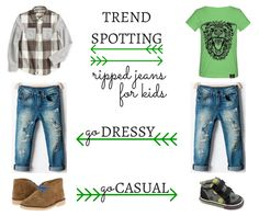 How do you feel about ripped jeans for kids? They seem to be on-trend right now, with moms adding a pair of cool, ripped jeans to their kids' wardrobes.   Savvy Sassy Moms   Clarks Kids Desert Boots
