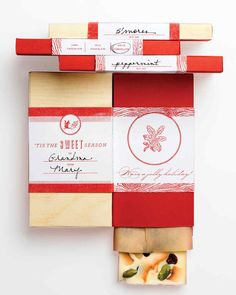The perfect way to give homemade Christmas candy is in a handcrafted box, bag, jar, or tin. Choose from easy packaging ideas that kids can help with, cute containers that double as Christmas decorations, and printable templates and clip art to help you create the perfect package for your candy.