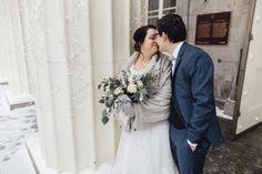 Mariage d'hiver : Marie-Pierre + François