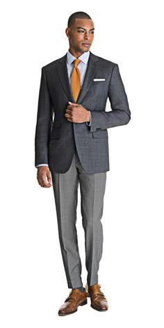 Blazers separate the men from the boys when it comes to style. If you care about how you look, you've got at least one custom blazer in your closet. Mens Fashion Suits, Mens Suits, Men's Fashion, Fashion Night, Fasion, Blazers For Men, Black Blazers, Blazer Outfits Men, Men Blazer