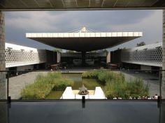 National museum of anthropology in a HUGE park