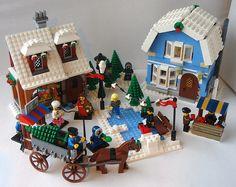 Winter Village Soup Café | Together with the Winter Village … | Flickr