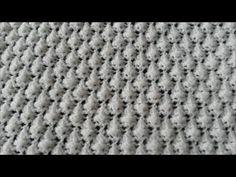 Kozalak örgü modeli Yapımı / Örgü modelleri