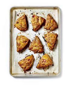 Pumpkin Scones with Cinnamon Butter Recipe - Bon Appétit