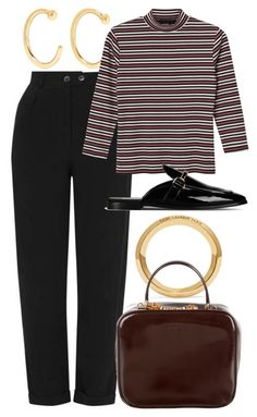"""Untitled #5596"" by rachellouisewilliamson on Polyvore featuring Melissa Joy Manning, Monki, Yves Saint Laurent, STELLA McCARTNEY and Gucci"