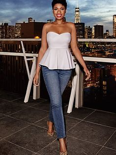 Shop Soho Jeans - Jennifer Hudson Ankle Legging - Runway Blue Wash . Find your perfect size online at the best price at New York & Company.
