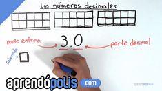 Concepto de números decimales
