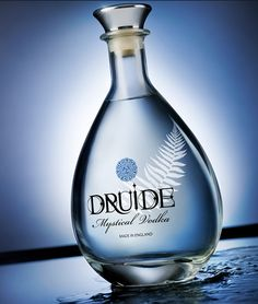 Druide Vodka made in England | #packaging #design PD