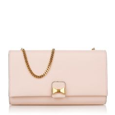 So lovely and romantic in Blossom Pink: Chloé Little Bow Pochette www.fashionette.de