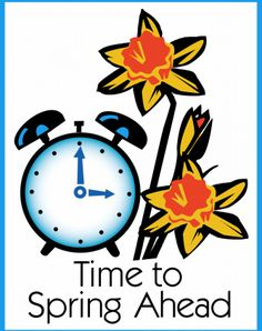 "Whether we set our clocks to ""fall back"" one hour each November or ""spring ahead"" an hour with Daylight Saving Time every March (this year, it's this Sunday, Ma… Spring Forward Fall Back, Spring Ahead, Spring Time, Daylight Savings Fall Back, Daylight Savings Time Begins, Clocks Forward, Clock Spring, Seasonal Image, Spring Quotes"