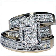 His Her Wedding Rings Set Trio Men Women 10k Yellow Gold, http://www.amazon.com/dp/B00CLV2UD6/ref=cm_sw_r_pi_awd_tvdDsb1FNZN6B