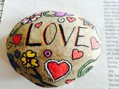 Made by me. Painted rock...Yvonne Waanders