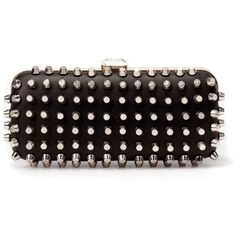 Studded clutch from Zara Make a statement with this one of a kind bag. Zara Bags Clutches & Wristlets