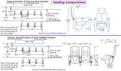 home theater chair dimensions Movie Theater Chairs, Cinema Chairs, Cinema Seats, Cinema Theatre, Theater Seating, Home Theater, Auditorium Architecture, Auditorium Design, Hotel Floor Plan