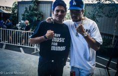 Eddie en Ice-T