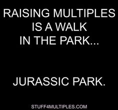 When all else fails and your day is going uphill with your twins and triplets, the best thing that you can do is keep your sense of humor. We get it and we can relate. Raising twins (or multiples) is not an easy task. Any parent of multiples can relate.