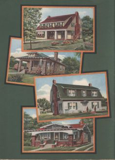 Sterling Homes, c. 1930.  International Mill & Timber Co. From the Association for Preservation Technology (APT) - Building Technology Heritage Library, an online archive of period architectural trade catalogs. Select an era or material era and become an architectural time traveler.