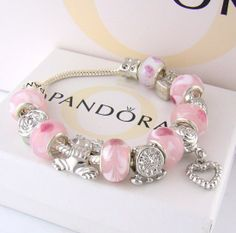 Pretty in Pink Pandora Bracelet