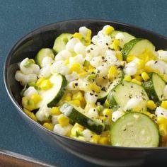 Zucchini Corn Medley Recipe - Perfect Labor Day side dish!