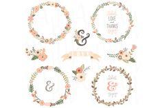 vintage wreaths logo - Google 검색