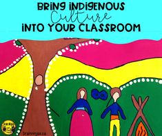 Bring Indigenous Culture into Your Art Lessons – Ninja Notes Indigenous Education, Indigenous Art, The Giving Tree, Creative Thinking, First Nations, Teaching Art, Art Lessons, Art Projects, Grade 2