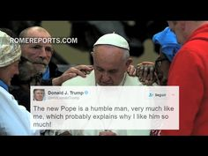 What Trump thinks about Pope Francis, according to his tweets - ROME REPORTS