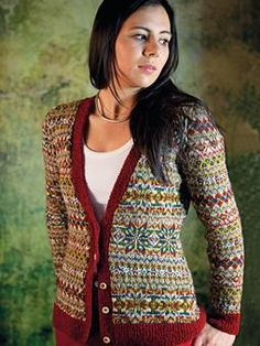 Designed by Martin Storey and featured in his Scottish Heritage knitting book.  Rowan fine tweed yarn is used here