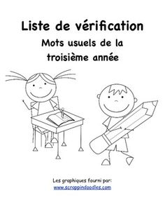 This is a checklist of the 220 French Immersion grade one sight words. This product can be used along with the grade one word wall package or the sight word packages. Spelling Activities, Kindergarten Activities, French Lessons, Spanish Lessons, Sight Words, Teaching French Immersion, Spanish Language Learning, Teaching Spanish, Teaching Reading