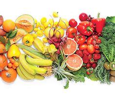 la mejor forma de obtener los beneficios de los colores de frutas y verduras...para prevenir enfermedades