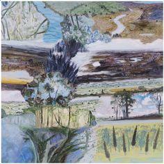 Barbara Tuck, Kaipara Crypt, 2013 from Ka ecologies Oil on board, 790 x Contemporary Landscape, Abstract Landscape, Abstract Art, New Zealand Art, Nz Art, Ecology, Framed Wall Art, Art Frames, Gallery