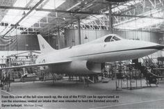 Hawker P1121 The chin air intakes seen in later generation fighters