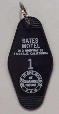 Bates Motel Key Tag, 2016 Amazon Most Gifted Correspondence  #Collectibles