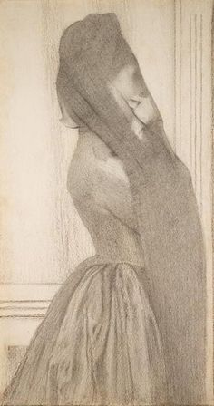 Fernand Khnopff, The Veil, 1887