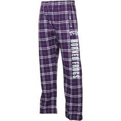 TCU Horned Frogs Classic Flannel Pants - Purple