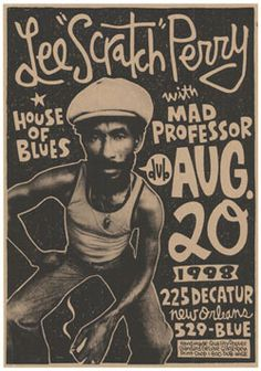 deluxe Band Posters, Cool Posters, Movie Posters, Lee Perry, Gig Poster, Do Love, Reggae, Professor, Blues