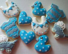 Baby Boy MINI Cookies