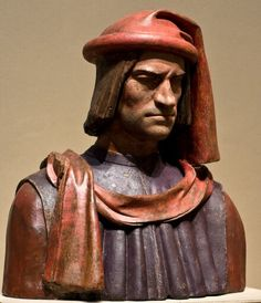 Lorenzo de' Medici, head of the family that dominated Florence, survived a 1478 assassination plot that took the life of his younger brother Giuliano. To commemorate these events and offer public thanksgiving for his salvation, wax statues of Lorenzo were placed in several churches—one version dressed in the very garments Lorenzo was wearing on the day he was attacked.