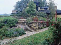 Los jardines de Frank Lloyd Wright
